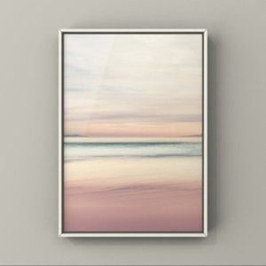 Beautiful Neutral landscape abstract art print